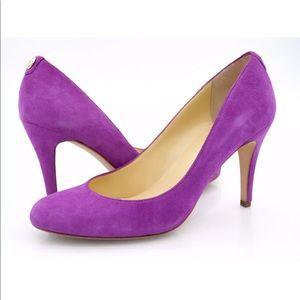 Ivanka Trump Womens 8.5M Purple Itamoro Pump Shoes